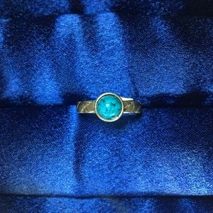 Jewelry - Indian Blue Coral Ring